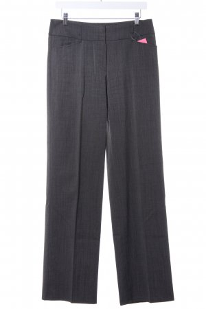 Taifun Pleated Trousers grey flecked business style