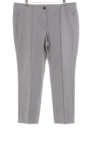 Taifun Pantalon à pinces gris brun style d'affaires