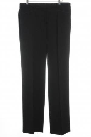 Taifun Pleated Trousers black business style