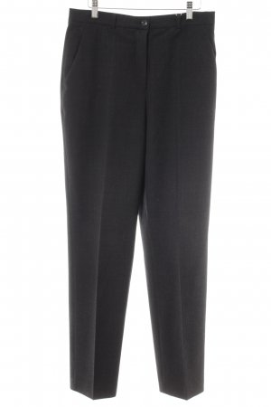 Taifun Pantalon à pinces noir-gris moucheté style d'affaires
