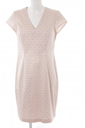 Taifun Sheath Dress pink-white graphic pattern business style