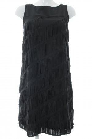 Taifun Fringed Dress black party style