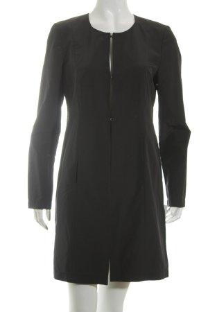Taifun Geklede jas zwart zakelijke stijl