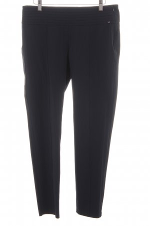 Taifun High-Waist Hose dunkelblau Business-Look