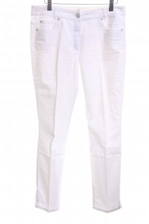 Taifun Hoge taille jeans wit casual uitstraling
