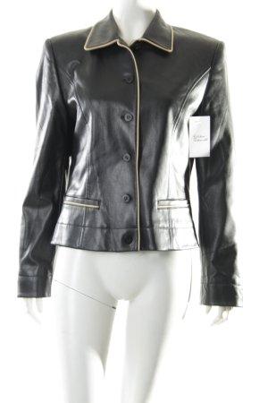 Taifun Jacke schwarz-weiß klassischer Stil