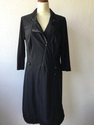 TAIFUN Kleid Stretchkleid in schwarz Gr. 36