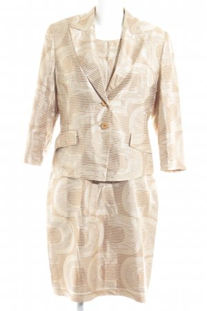 Taifun Ladies' Suit gold-colored '80s style