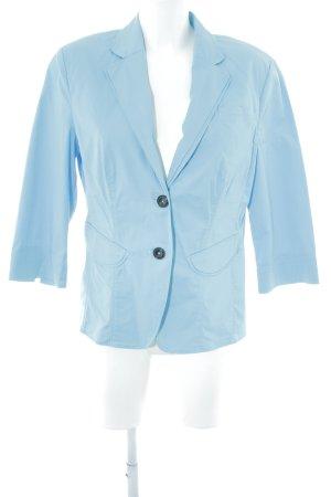 Taifun Kurz-Blazer babyblau Casual-Look