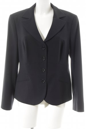 Taifun Kurz-Blazer dunkelblau Business-Look