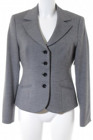 Taifun Kurz-Blazer grau Business-Look