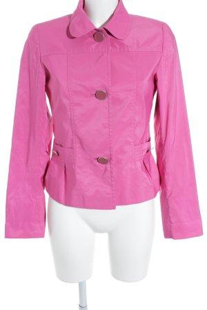 Taifun Kurz-Blazer pink extravaganter Stil