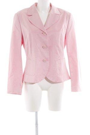 Taifun Kurz-Blazer rosa Business-Look