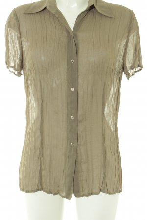 Taifun Short Sleeved Blouse olive green casual look