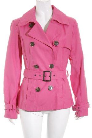 Taifun Kurzjacke pink Street-Fashion-Look