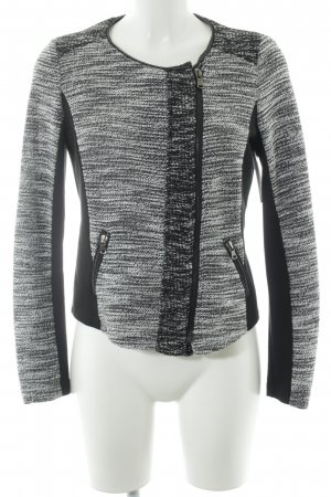 Taifun Short Jacket black-white color blocking business style