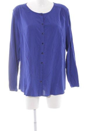 Taifun Langarm-Bluse blau Elegant