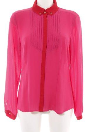 Taifun Langarm-Bluse pink-rot Elegant