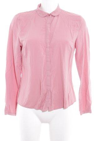 Taifun Langarm-Bluse rosa Casual-Look