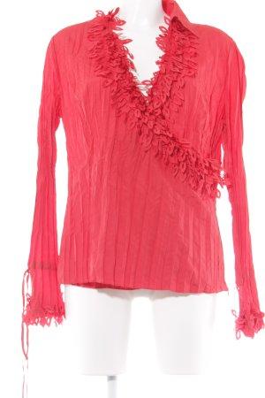 Taifun Langarm-Bluse rot Elegant
