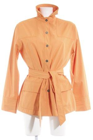 Taifun Lange Jacke neonorange minimalistischer Stil