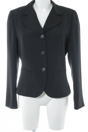 Taifun Long-Blazer schwarz Business-Look