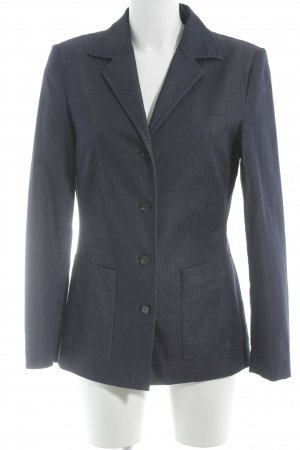 Taifun Long-Blazer stahlblau Business-Look