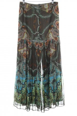 Taifun Maxi rok abstract patroon Boho uitstraling