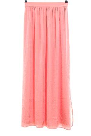 Taifun Falda larga rosa look casual