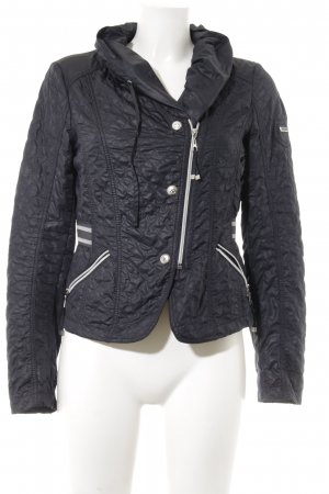 Taifun Outdoor jack donkerblauw-wit casual uitstraling