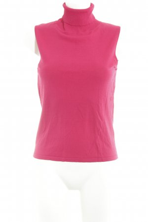 Taifun Neckholder Top magenta-raspberry-red casual look