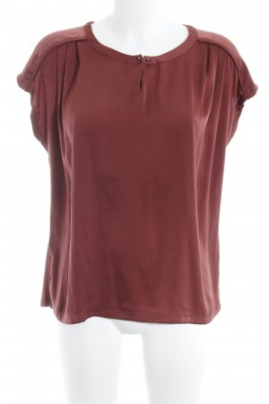 Taifun Slip-over blouse bordeaux elegant