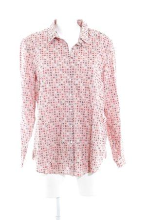 Taifun Separates Hemd-Bluse rosa Punktemuster Elegant