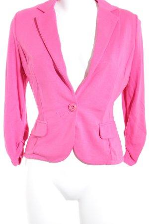 Taifun Separates Jerseyblazer pink schlichter Stil