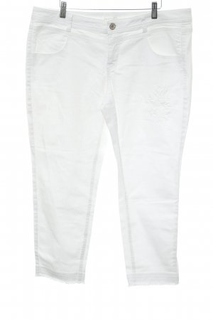 Taifun Separates Straight-Leg Jeans wollweiß Casual-Look