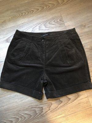Taifun Shorts anthracite-taupe