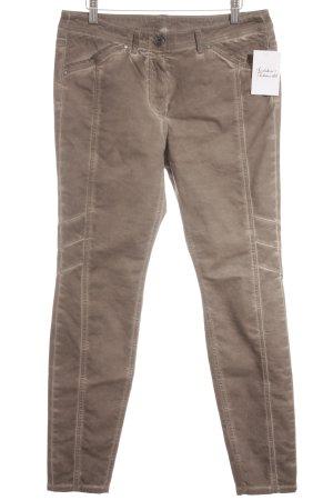 Taifun Slim Jeans bronzefarben Casual-Look