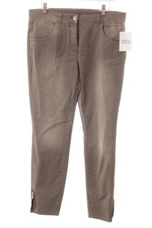 Taifun Slim Jeans grüngrau Casual-Look