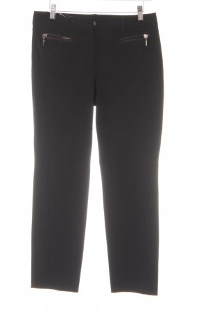 Taifun Strapped Trousers black casual look