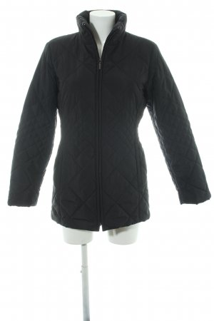 Taifun Quilted Jacket black quilting pattern casual look