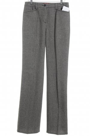 Taifun Stoffhose grau meliert Business-Look