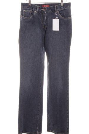 Taifun Jeans a gamba dritta blu stile casual