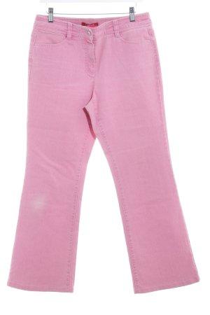 Taifun Straight-Leg Jeans rosa Casual-Look