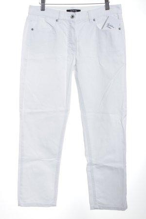 Taifun Straight-Leg Jeans weiß Jeans-Optik