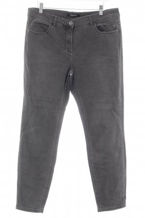 Taifun Stretch Jeans grau-hellgrau Casual-Look