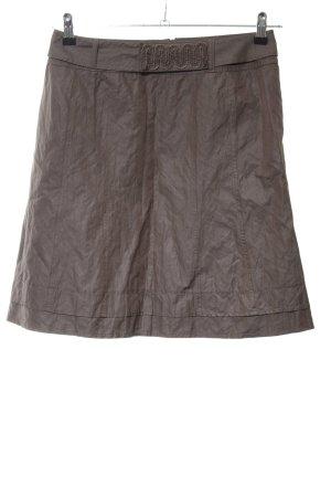 Taifun Taffeta Skirt bronze-colored casual look