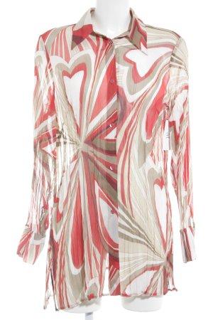 Taifun Transparenz-Bluse Streifenmuster Street-Fashion-Look