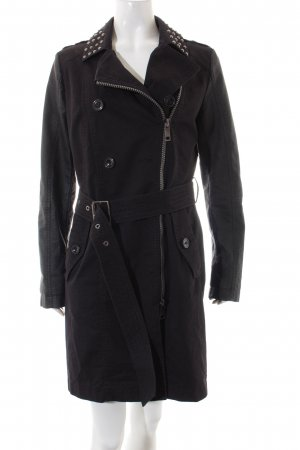 Taifun Trenchcoat schwarz Street-Fashion-Look