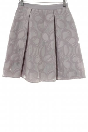 Taifun Tulip Skirt pink mixed pattern casual look