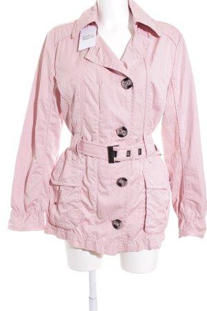 Taifun Übergangsjacke rosa Casual-Look